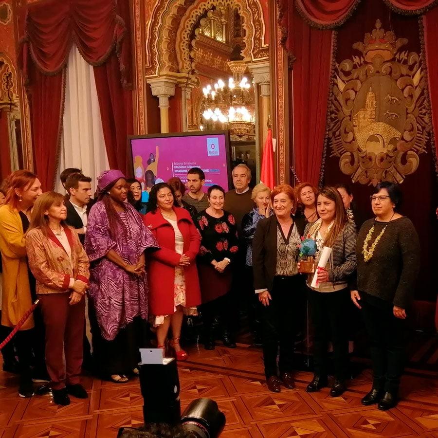 Premio emprendimiento mujeres extranjeras